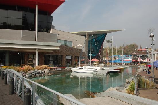 Extérieur du Mall Deportivo