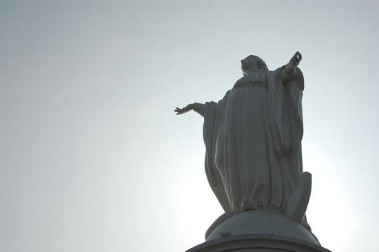 La Vierge au Cerro San Cristobal