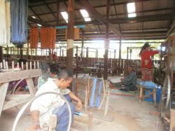 L'atelier de la soie